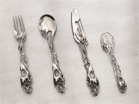 cool silverware eragatory cutlery set by isaie bloch