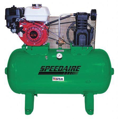 speedaire stationary air compressor 5 5 hp honda 40jl42 zoro