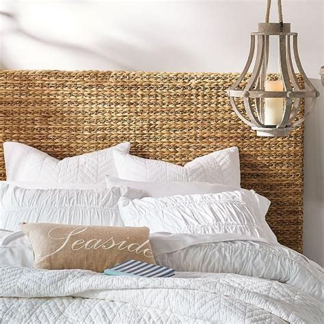 diy seagrass headboard 1000 ideas about beach headboard on pinterest beach