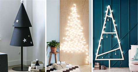 contempory xmas tree toppers to make decor ideas 14 diy alternative modern trees contemporist