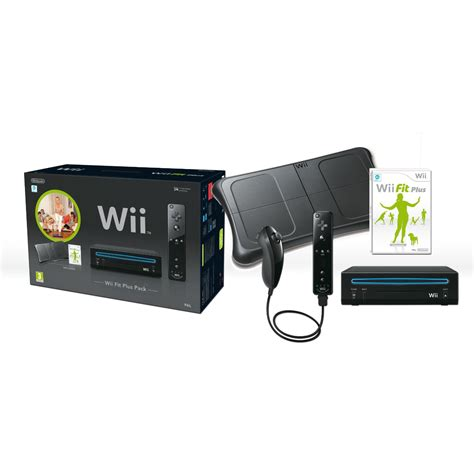 ebay wii nintendo wii black with wii fit plus includes balance