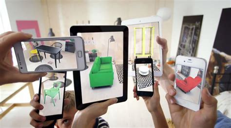 augmented reality home design ipad place ikea furniture in your home with augmented reality app