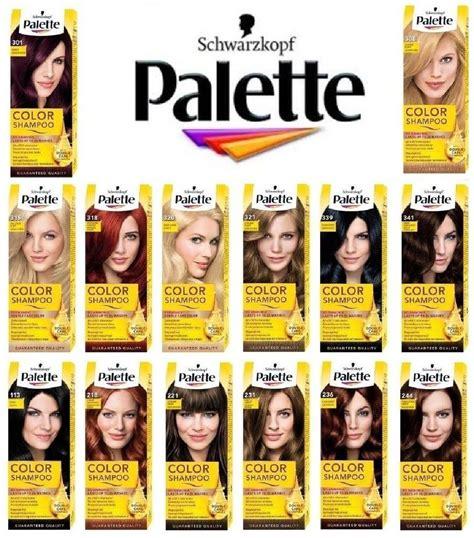 Harga Schwarzkopf Hair Color schwarzkopf palette color shoo demi permanent hair dye