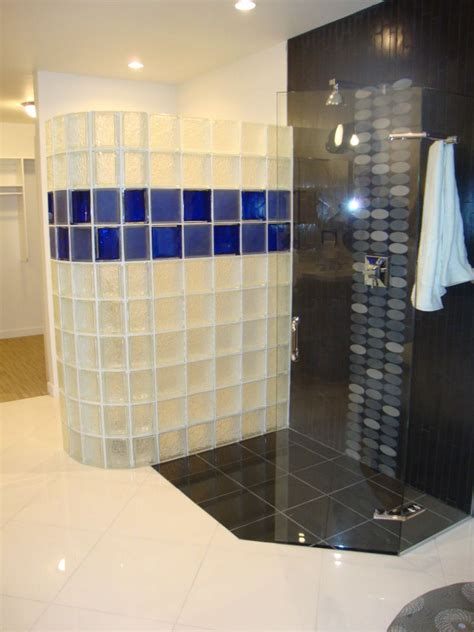 glass block bathroom designs glass block patterns innovate building solutions