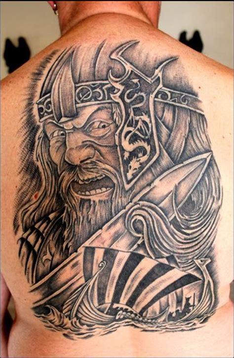 full back tattoo viking 5 viking tattoos on full back