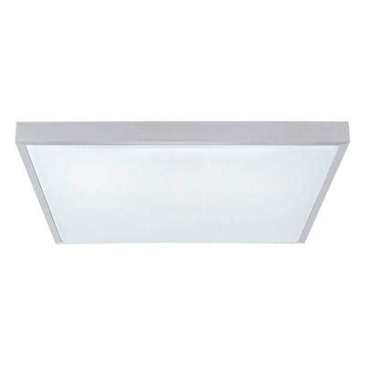led ceiling lights home depot eglo idun 1 matte nickel led ceiling light 93775a the