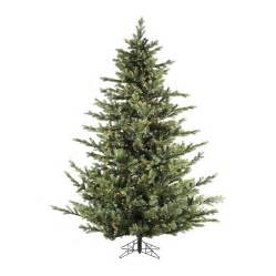 9 ft tree prelit shop fraser hill farm 9 ft pre lit foxtail pine artificial