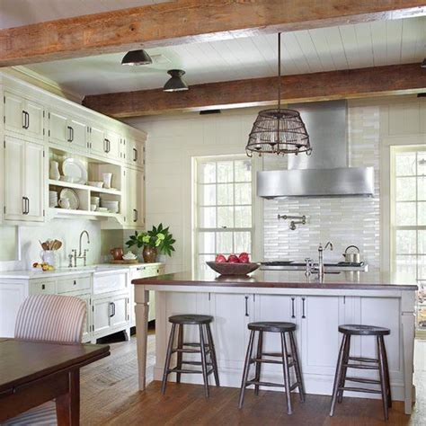 rustic farmhouse kitchen ideas 35 cozy and chic farmhouse kitchen d 233 cor ideas digsdigs