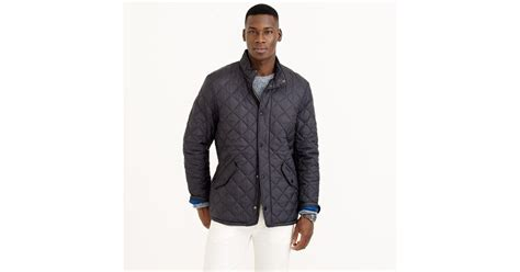 Jaket Chelsea Navy 4 barbour flyweight chelsea quilted jacket in blue for