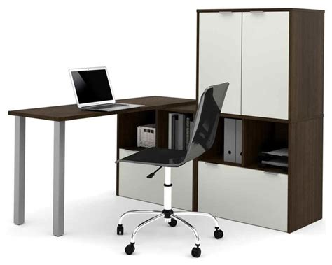 l shaped desk with metal legs contemporary desks and