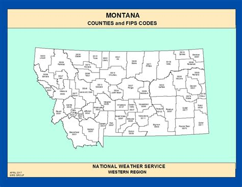 montana county map maps montana counties and fips codes