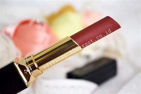 Purbasari Lipstick Color Matte No 86 esy review purbasari lipstick color matte in