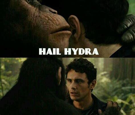 Hail Hydra Meme - hail hydra marvel memes