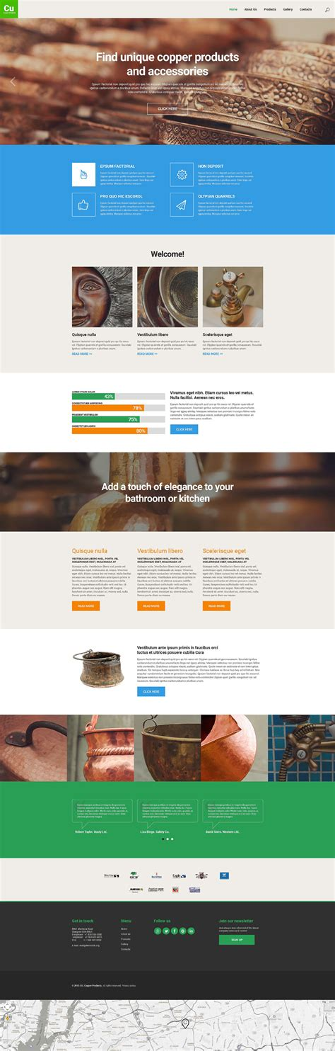 wordpress themes industrial design 10 perfect exles of ghost buttons in use free