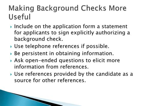 Eligibility For Rehire Background Check Session6 Gary Dessler Ch06 Testing And Selection 1