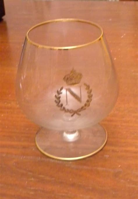 bicchieri serigrafati 6 bicchieri cognac napoleon d epoca serigrafati ebay