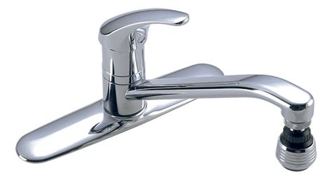 symmons s 23 symmetrix single lever kitchen faucet w origins 174 single handle kitchen faucet s 23 1 symmons
