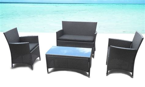 Table Basse Resine Tressee 1200 by Salon De Jardin Panama Groupon Shopping