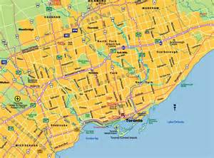 maps of toronto ontario canada free printable maps