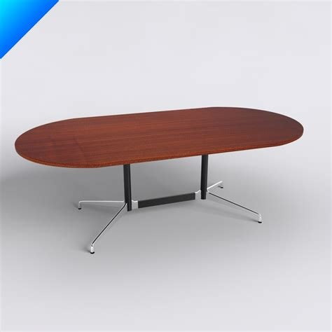 eames oval dining table 3d charles eames table tops