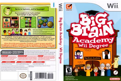 dvd format wii games big brain academy wii degree nintendo wii game covers