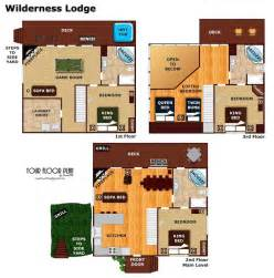 villas at wilderness lodge floor plan wilderness lodge pigeon forge cabin american patriot