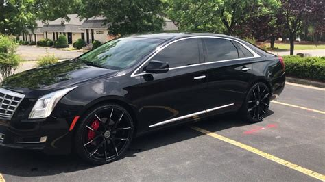 Cadillac Xts On 24s by Cadillac Xts W 22 In Lexani Wheels Walkaround