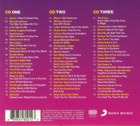 internet magic go email me if thats you various now that s what i call 80s party cd unmixed