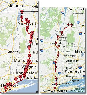 uvm cus map vermont transportation car plane ferryboat