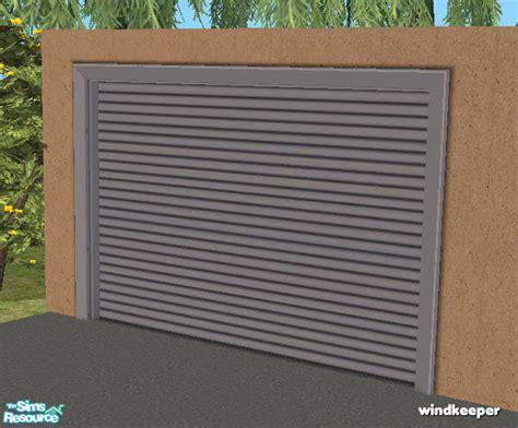 Mesh Garage Door Windkeeper S Flat Garage Door Mesh