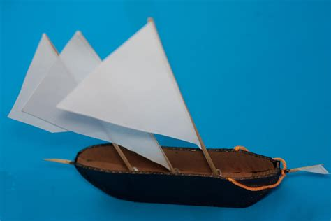 How To Make A Big Boat Out Of Paper - how to make a cardboard ship with pictures wikihow