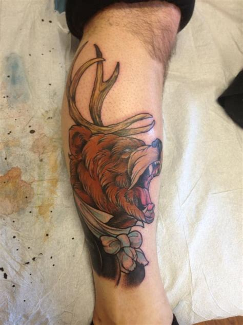 lucky strike tattoo by chris iwaniuk at lucky strike edmonton