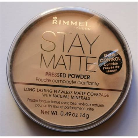 Rimmel Stay Matte Powder Transparent rimmel stay matte puder prasowany 001 transparent