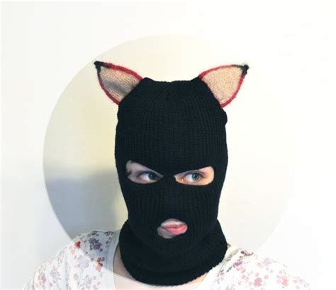 pattern white bandit mask farm fantastic mr fox bandit adult mask black ski mask hand