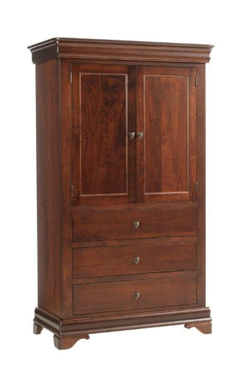 Amish Wardrobe Closet by Millcraft Versailles Armoire Closet From
