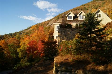 home in the mountains lisa s cozy mountain hideaway in fall hooked on houses