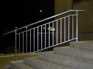 Wall Mounted Handrail For Stairs Railings Portfolio Endeman S Ironcraft Ltd