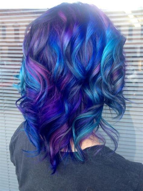 midnight blue hair color ideas and hair color on pinterest