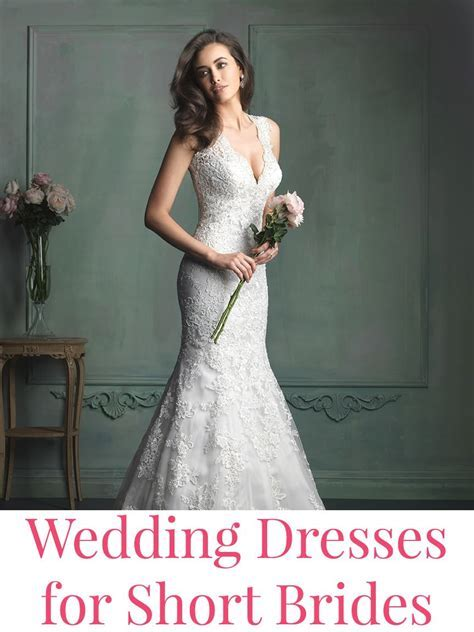 Short Bride on Pinterest   Davids Bridal Gowns, Pregnant