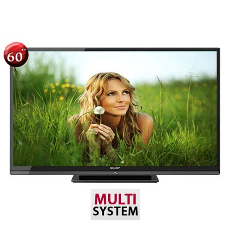 Tv Sharp Slim 2 sharp lc 60le630m 60 quot ultra slim multi system led tv world import