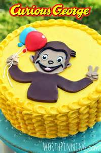Curious George Cake Template by Worth Pinning Curious George Cake