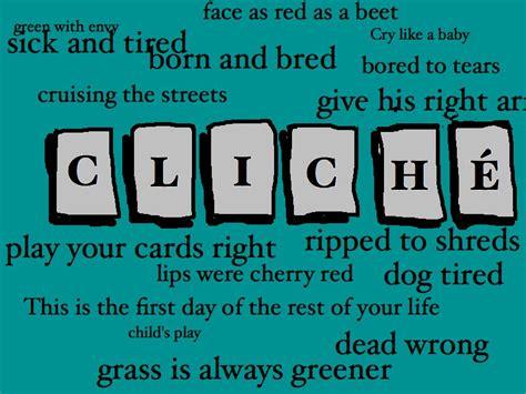 Resume Cliche Words Cliche