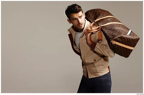 Louis Vuitton Brings In The Supermodels For 2008 by Arthur Kulkov Models Louis Vuitton For Gq China Editorial
