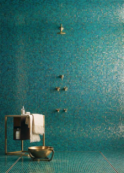 piastrelle bisazza bagno con pavimenti e rivestimenti in mosaico 100 idee