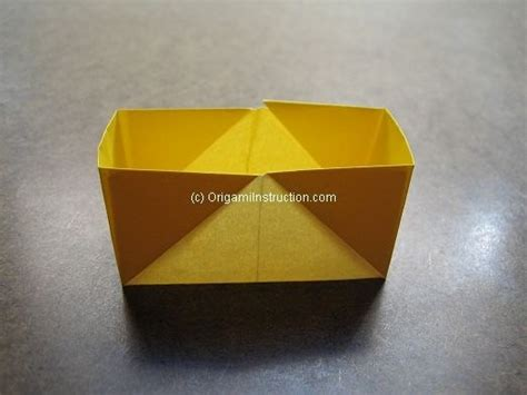 Origami Rectangle Box - origami origami simple rectangular box