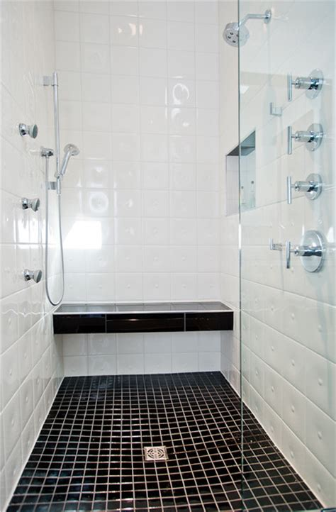 houzz black and white bathroom modern bathroom
