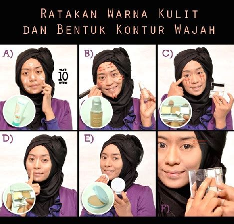 tutorial makeup natural dengan wardah kosmetik halal tips makeup natural wardah life style by modernstork com