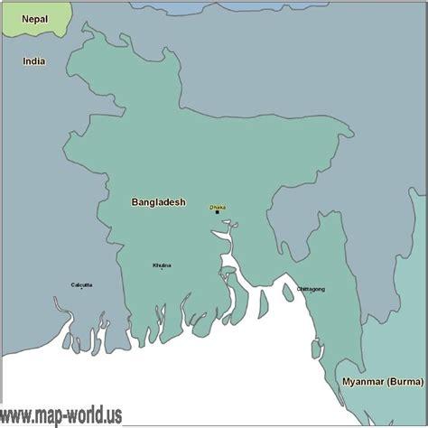dhaka on world map map of bangladesh bangladesh map world map