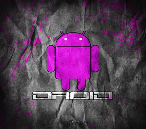 wallpaper pink android droid pink android wallpaper by cderekw on deviantart