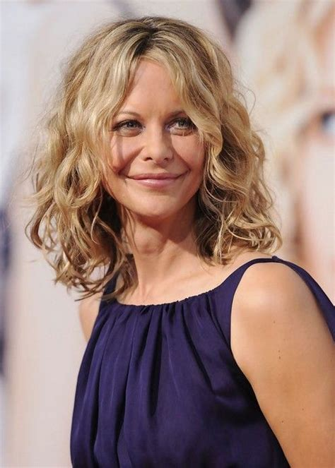 meg ryan long curly hairstyles medium wavy curly long bob hairstyle for women meg ryan